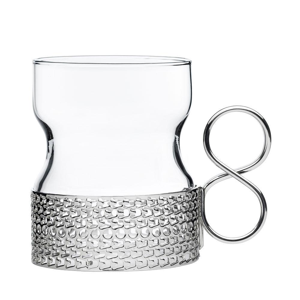 Glas med hållare Tsaikka 23 cl 2 st