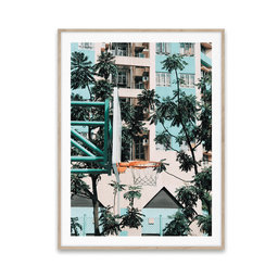 Poster Cities of Basketball 01 30 x 40 cm