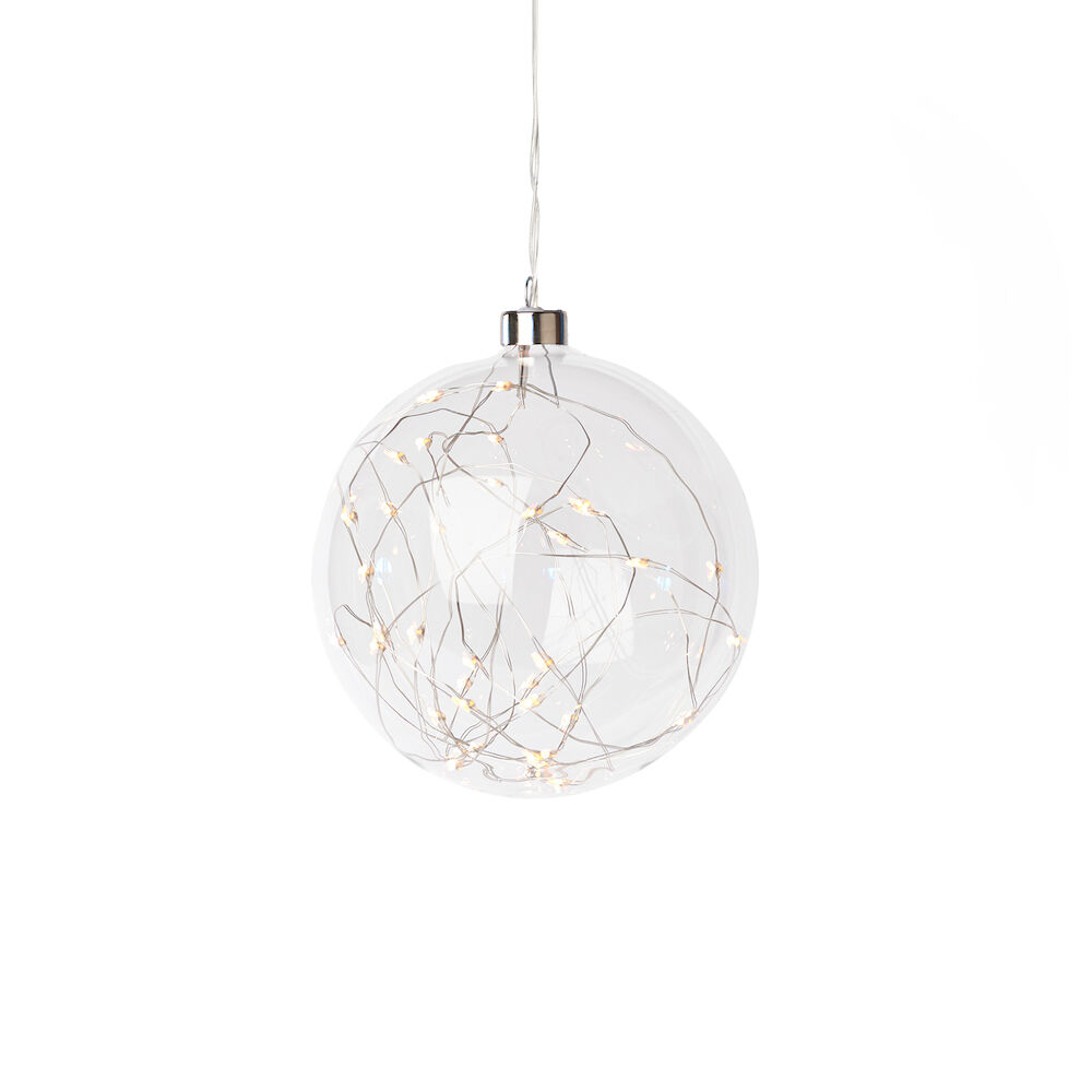 Ljusslinga 40 LED Glaskula