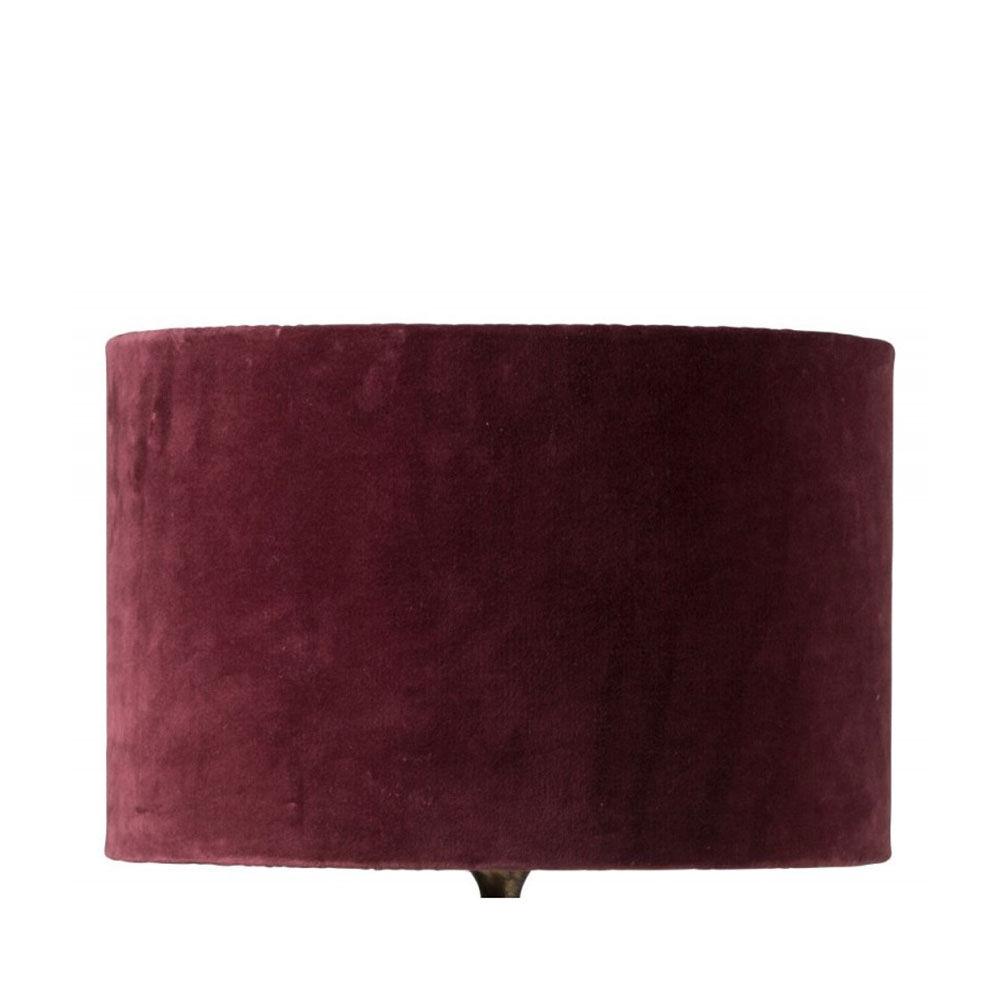 Lampskärm Sanna Ø38cm burgundy