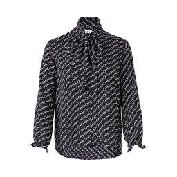 Woven Shirt W. Bow