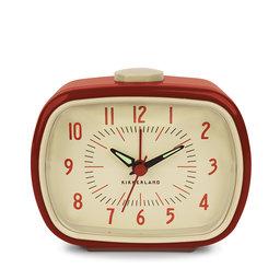 Retro Alarm Clock + Red