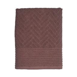 Handduk Brick 70×133 cm mauve