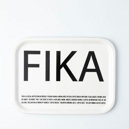 Bricka FIKA 27×20 cm