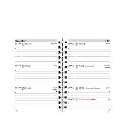 Kalender 2020 Leader refill