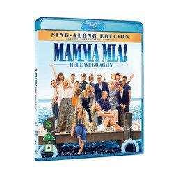 Mamma Mia! Here We Go Again BlueRay