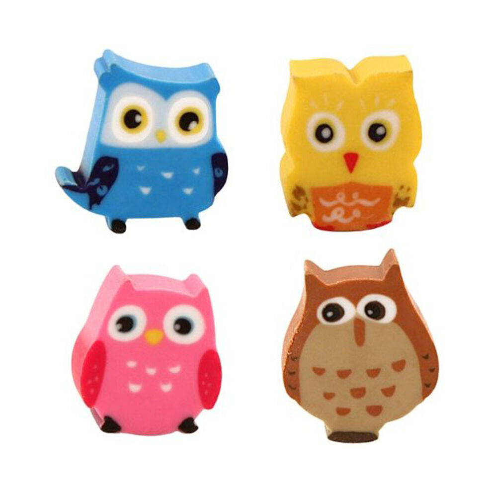 Suddgummi Mini Owl 10-pack