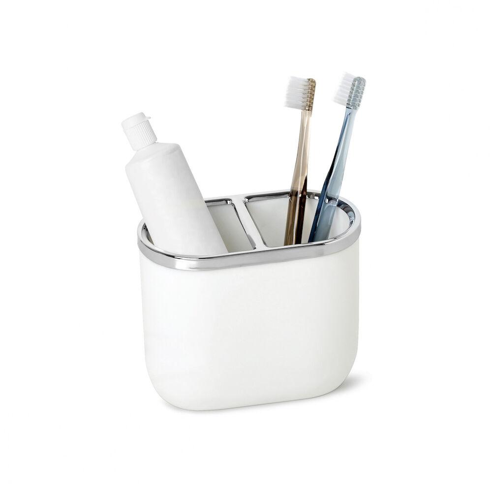 Tandborsthållare Junip vit