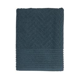 Handduk Brick 70×130 cm midnight blue