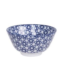 Skål Nippon Stripe, Ø12 cm, blå