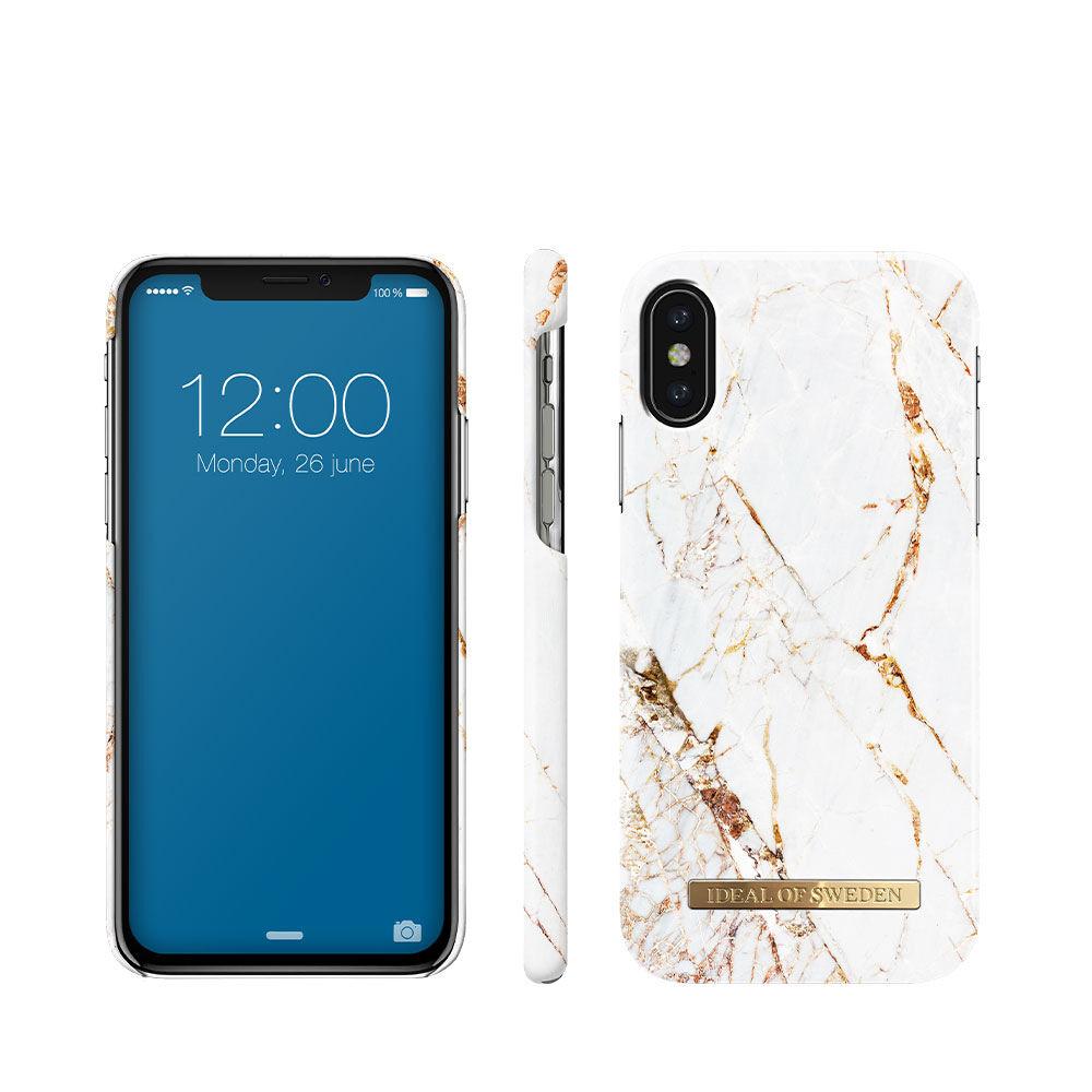 Mobilskal IPHONE X CARRARA GOLD
