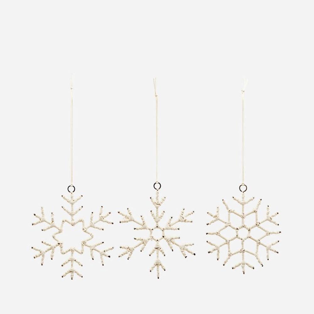 Ornament Soft Ø 10 cm 3-pack