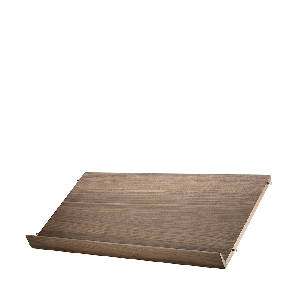 tidskriftshylla trä b78 x d30 cm 1-pack