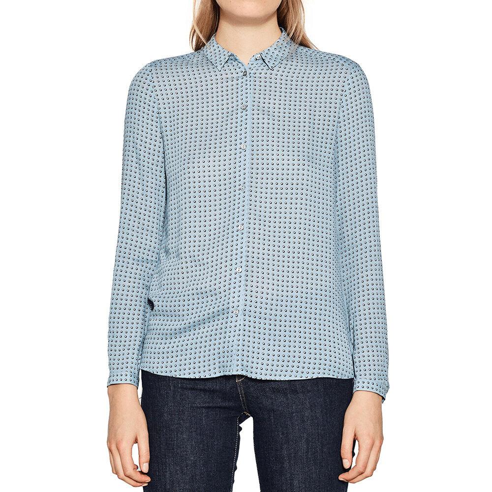 Skjorta med mönster