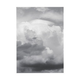 Poster moln, 50x70 cm