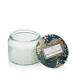 French Cade & Lavender Small Glass Jar