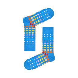 Faded Disco Dot Sock