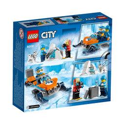 60191 City Arctic Expedition Arktiskt utforskningsteam