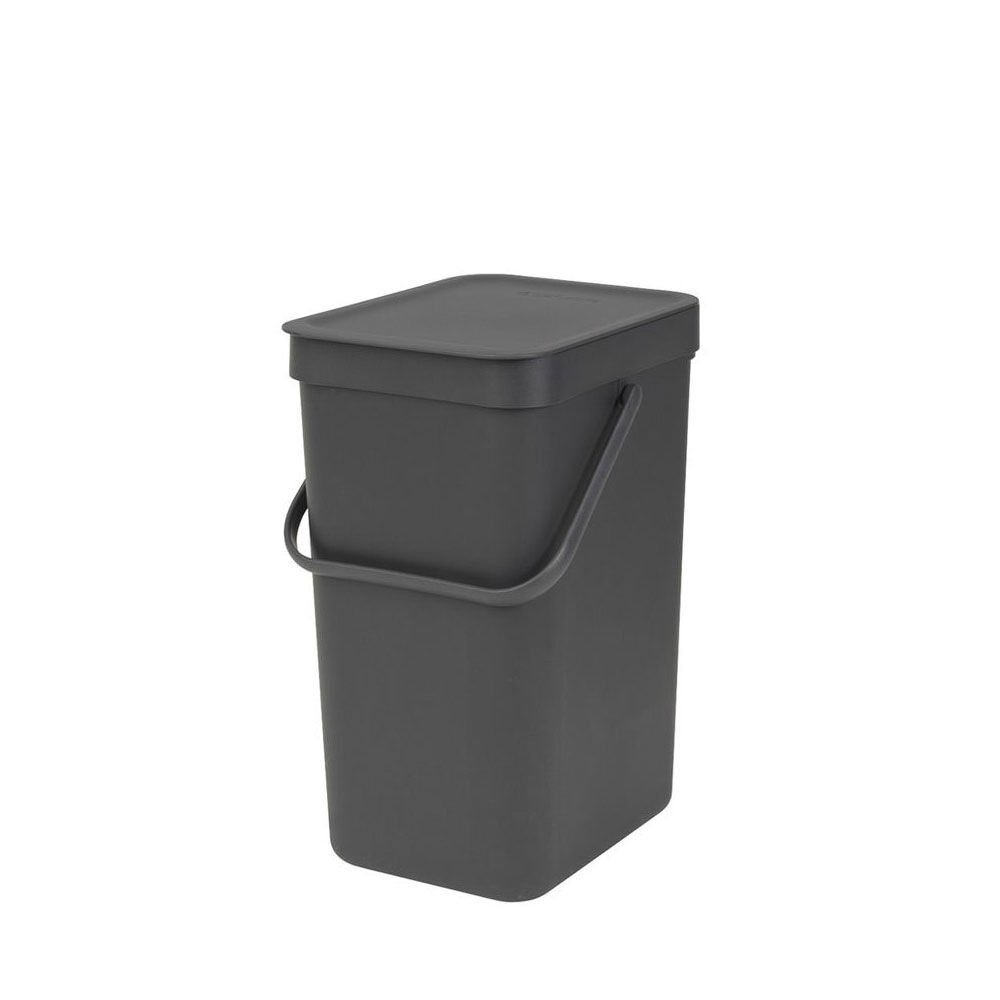 Papperskorg/Avfallshink Sort & Go 12 liter