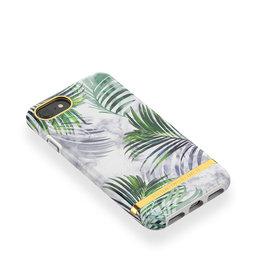 Mobilskal iPhone 6/7/8 White Marble Tropics