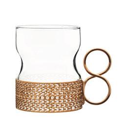 Tsaikka glas med hållare 23 cl 2-pack