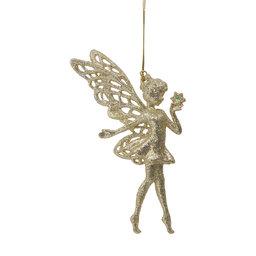 Ornament Glittrig Älva med stjärna