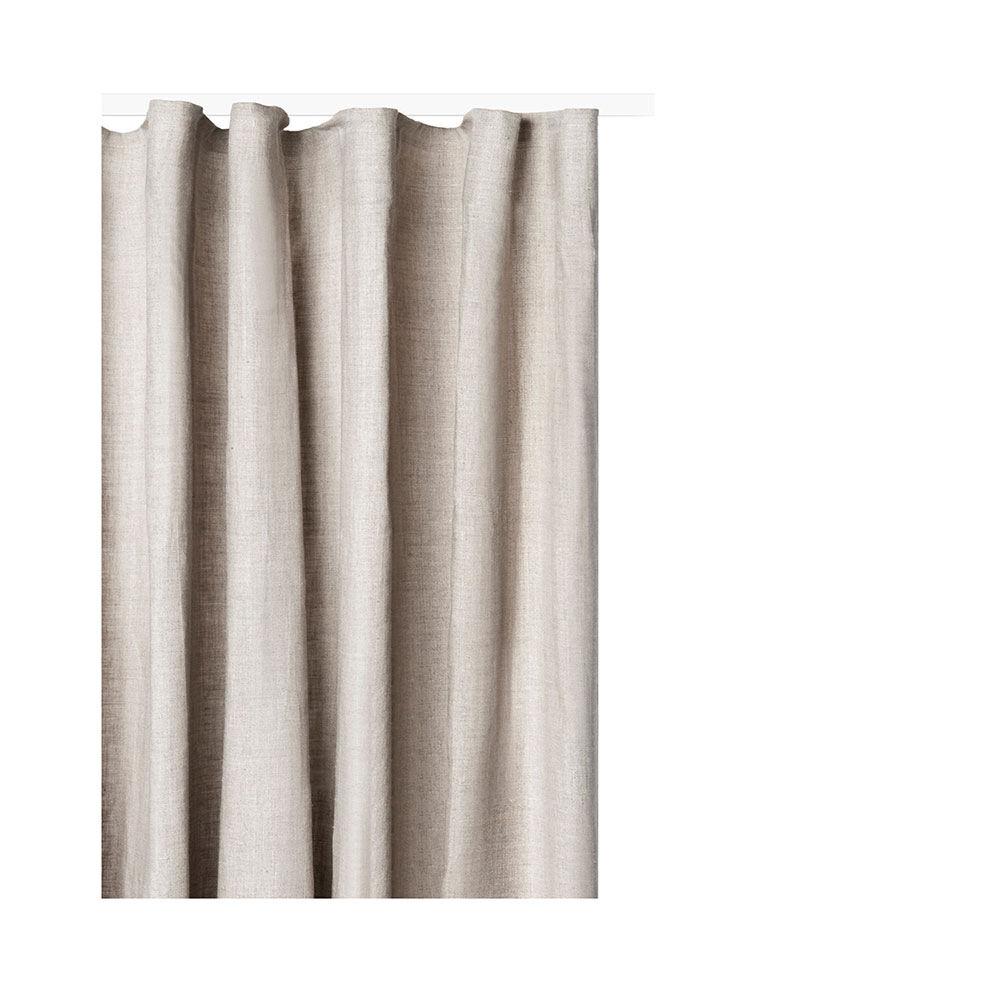 Gardin med veckband Lilja 282×290 cm