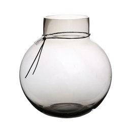 Glasvas rund