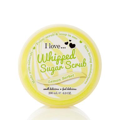 Lemon Sorbet Wipped Sugar Scrub 200 ml