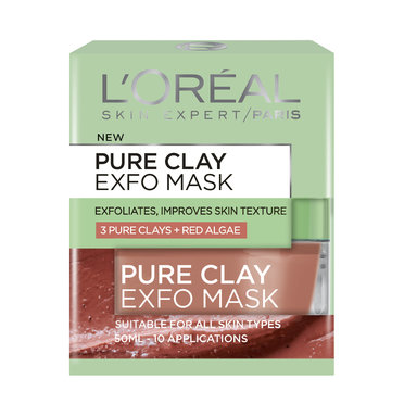 Pure Clay Mask Exfoliating