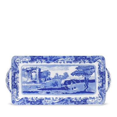 Smörgåsbricka porslin Blue Italian