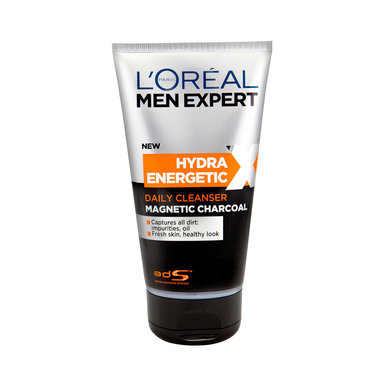 Hydra Energetic X Magnetic Charcoal Cleanser 150 ml
