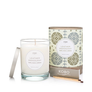 Motif Collection – Leather Mahogany Candle 312 g