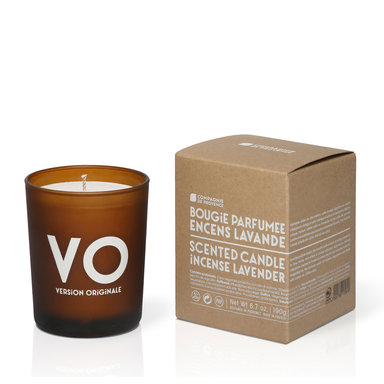 Incense Lavender Scented Candle 190 g