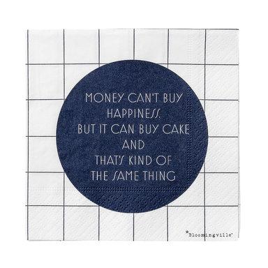 Servett Paper Napkin Money Can't…