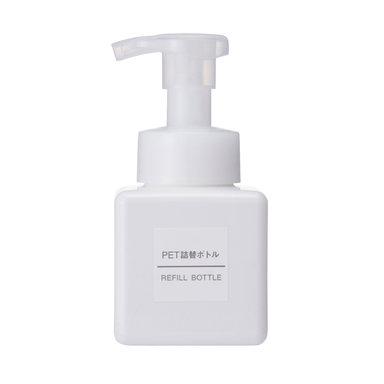 White Foam Pump Bottle – 250ml