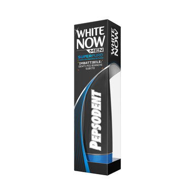 Tandkräm White Now Men Superpure 75 ml