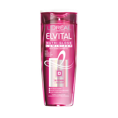 Elvital Nutri Gloss Luminizer Schampo 250 ml