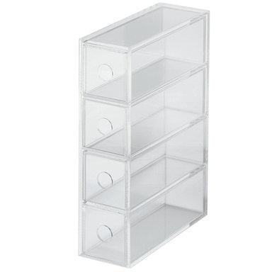 Förvaringsbox Acrylic Unit 4 fack