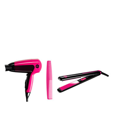 Hair Dryer & Straightener