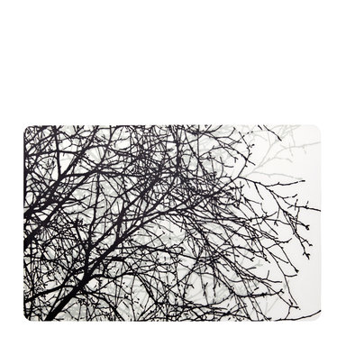 Tablett Björk 43×28 cm