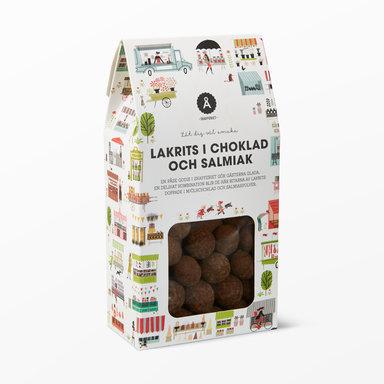 Lakrits i choklad 150g