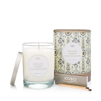 Motif Collection – Orange Amber Candle 312 g