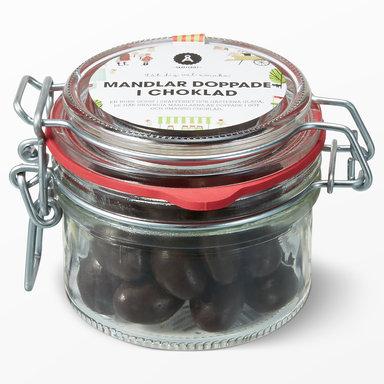 Chokladdoppade mandlar 110g