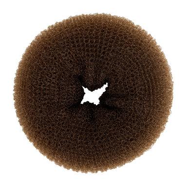 Donut för hår brun
