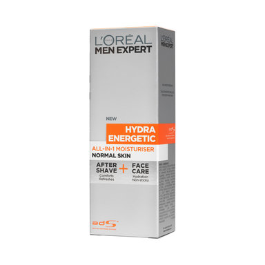Hydra Energetic All-In-1 Moisturiser After Shave + Face Care 75 ml
