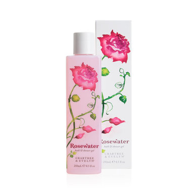 Rosewater Shower Gel 250 ml