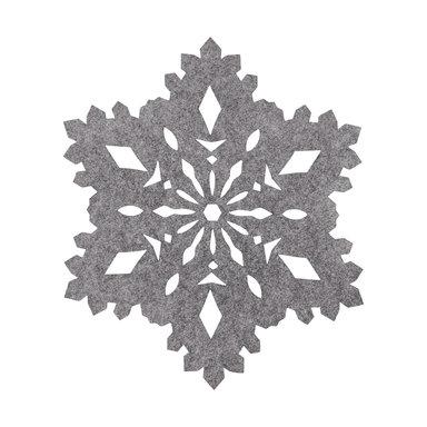 Tablett snöflinga, Ø40 cm
