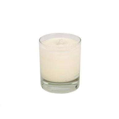 Orangey Glass Candle