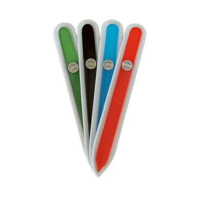 Glasfil färgad i fodral 14 cm